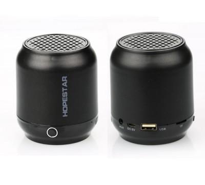 Портативная беспроводная Bluetooth колонка Hopestar H8 воспроизведение с карты памяти, USB накопителей, встроенное FM радио, громкая связь для разговора по телефону, кнопка переключения режимов