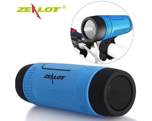 Портативный динамик фонарик Zealot S1