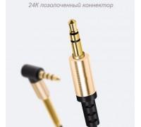 Кабель AUX HOCO UPA02 2м с микрофоном