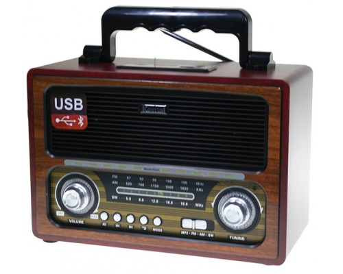 Ретро радиоприемник Kemai MD-1800