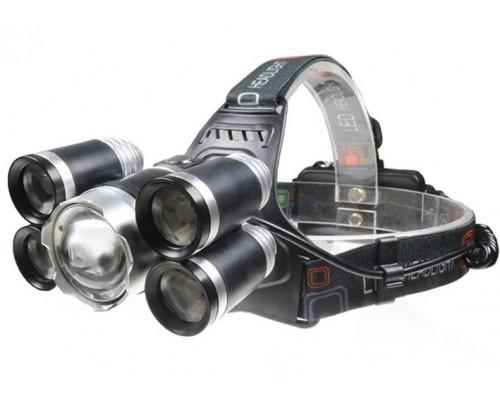 Налобный фонарь P-T15C-T6 ZOOM HL-8230 T6