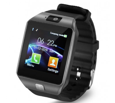 Умные смарт часы DZ09 наручные цифровые с поддержкой bluetooth и sim-карты для iPhone и Android