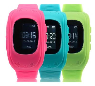 Умные детские наручные водонепроницаемые часы Q50 GPS трекер, поддержка SIM карты, SOS кнопка, синхронизация звонков, SMS и оповещений.