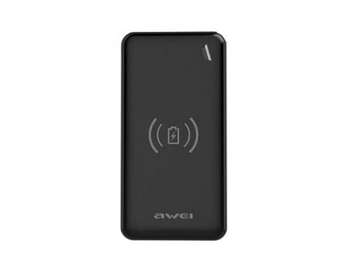 Бнешний аккумулятор AWEI P59K 10000 mAh Wireless Charger