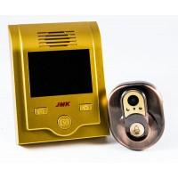 Видеоглазок звонок JMK с монитором на дверь