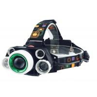 Налобный фонарь HL-8220-5 ZOOM